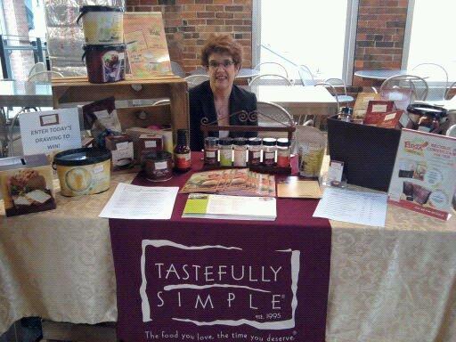 Lesley Lackore, Tastefully Simple
