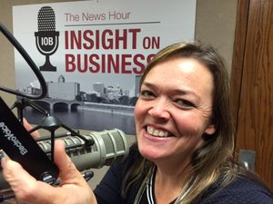 Weekly Business Networking and Education with Laura Kinnard on Insight on Business the News Hour Radio Podcast